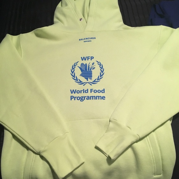 Balenciaga Shirts World Of Food Supporter Sweatshirt Poshmark